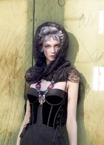 corset, gaze
